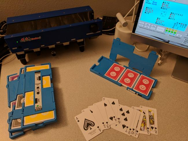 ACBL cards with a Playbridge Dealer4 machine